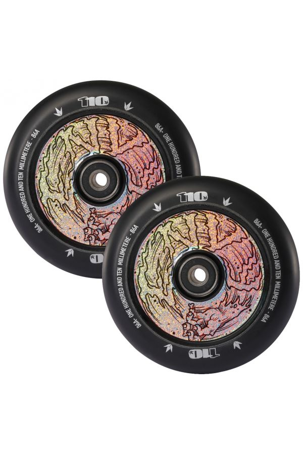 Blunt Envy Hand Hollow Core Scooter Wheel Pair - 110mm x 24mm